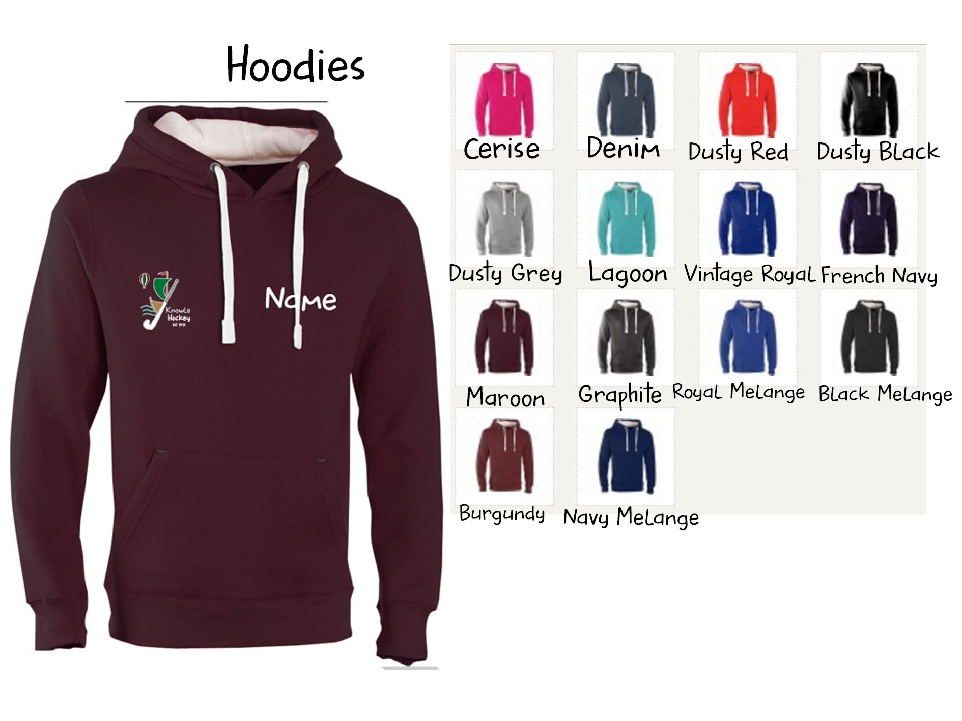 Knowle Hoodies